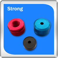 color anodized qualified machining spare part