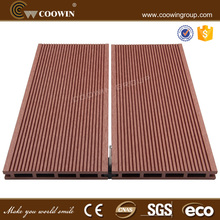 Fire proof wpc deck wood plastic composite flooeing boards