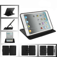 360 Degree Rotating Leather Stand Case For iPad Mini 2