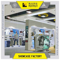 Nike brand sport clothes store ,clothes fixture shoes display stand ,clothes display furniture