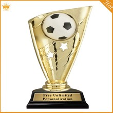 customize football soccer plastic trophy