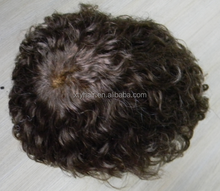 Alibaba express brazilian mens hair piece, toupee for black men, afro wigs for black men