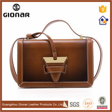 Private Label Handbags Manufactures Women Vintage Shoulder Bags Leather Lady Handbag