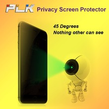Discount Cheap Explosion Proof Anti Spy Privacy Tempered Glass Screen Protector For iphone 5/6*