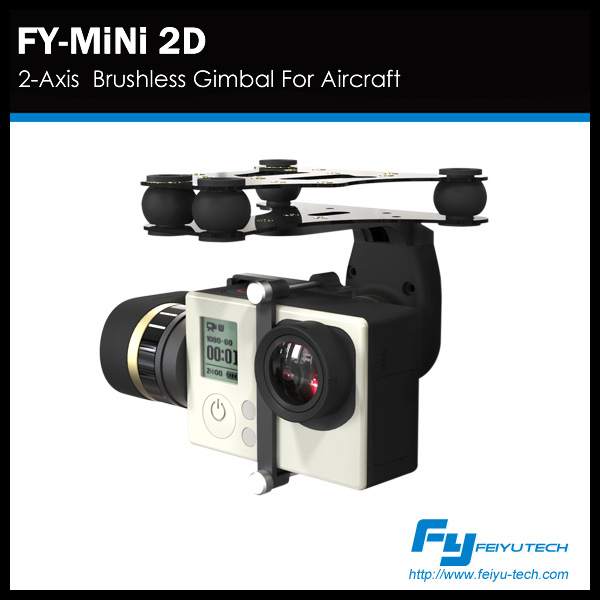 FY gimbal--the 2-axis brushless fpv and uav gimbal for -Gopro3