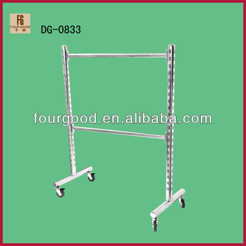 Fashional clothing display stands/ hanging display rack