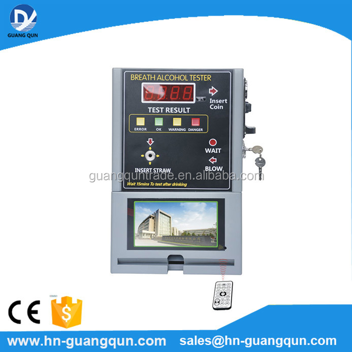 AT319V Coin Operated Breathalyzer Alcohol Tester