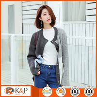 China new design ladies blouse fashion women's cashmere cardigan sweaters on sale