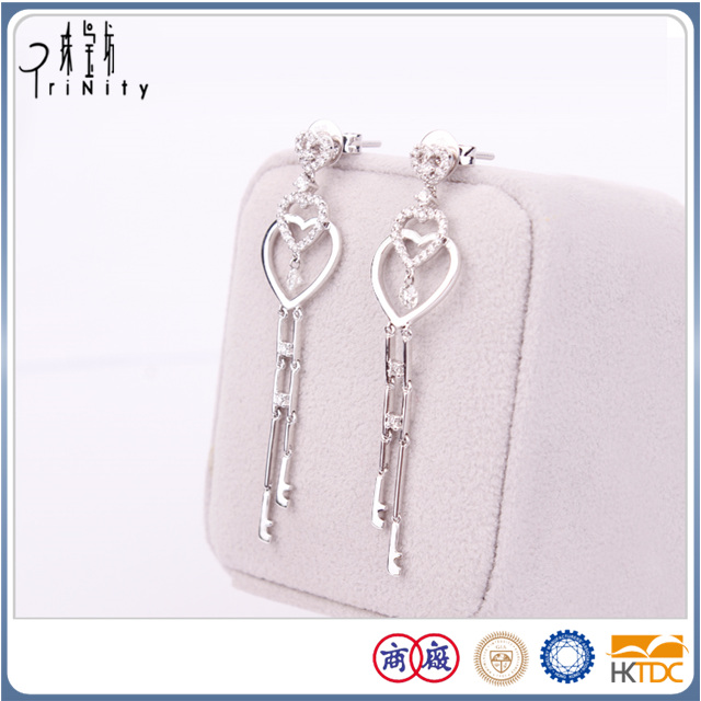 guarantee for two years diamond earring
