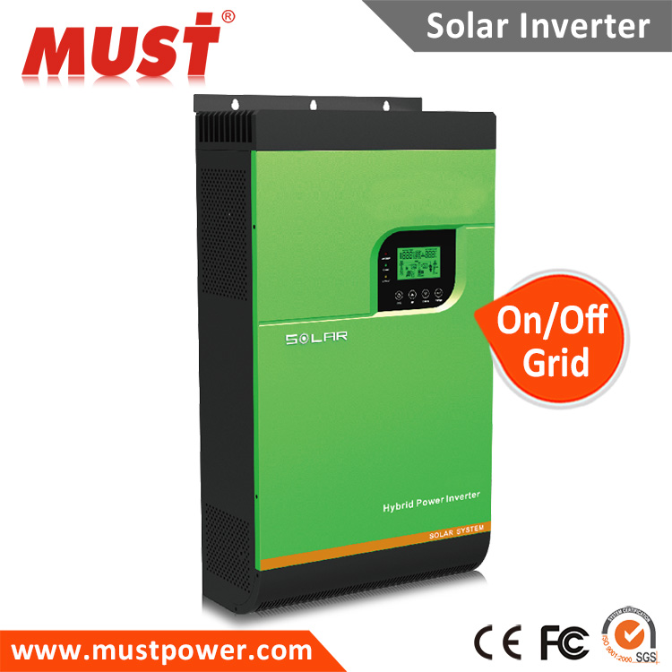 MPPT solar charge controller AC charger battery charger 3KVA 2400W