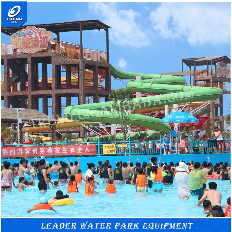 Manufacturer production water park slides for sale,flexible price water park equipment for sale