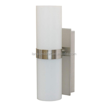 hotel bath vanity lamp has a contemporary Rectangular Back Plate Base