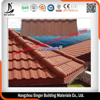 Factory Direct Sell colorful stone coated metal/steel roofing tiles /Carlac Steel Roof Tiles Factory