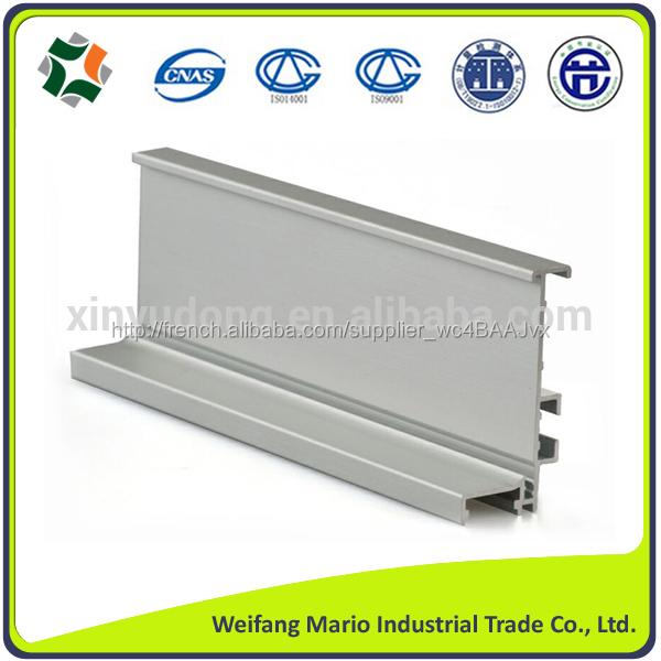 2014 haute qualit aluminium profil pour cuisine porte de for Porte cuisine aluminium