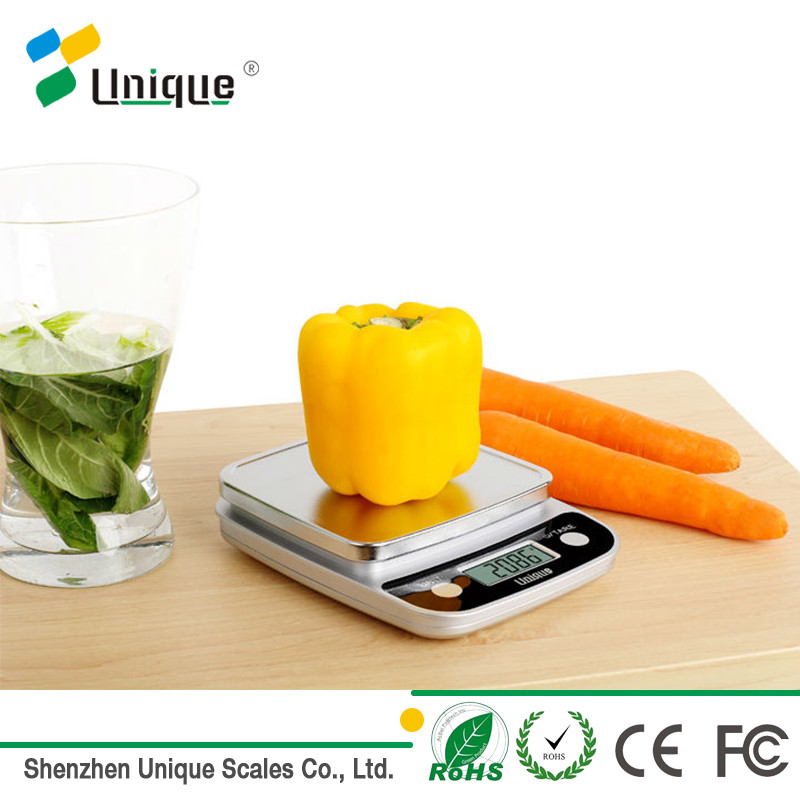 5kg 11lb Liquid Measuring Large Display Lcd 5kg Digital Kitchen And Food Electronic Scale