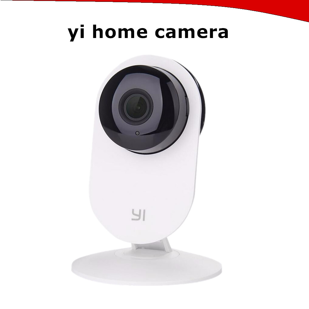 Original Xiaomi Yi ip Night Vision WiFi 720P IP Camera WHITE Intelligent 720P Baby Monitor Security Camera 4X Dig