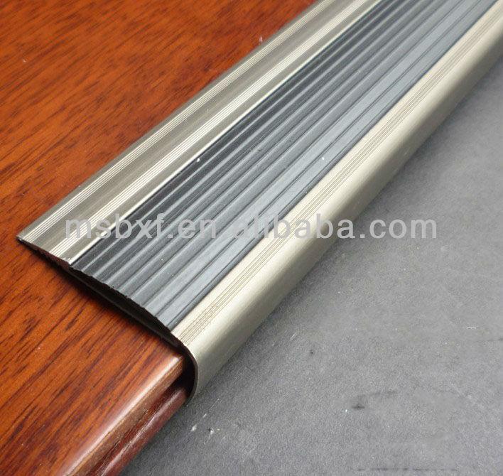 Superb Metal Stair Edging/Aluminum Stair Nosing/Carborundum Stair  NosingPhotoluminescent Stair Nosing/