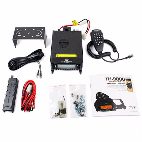 Scrambler vehicle mouted two way walkie talkie transceiver dual band ham radio mobile