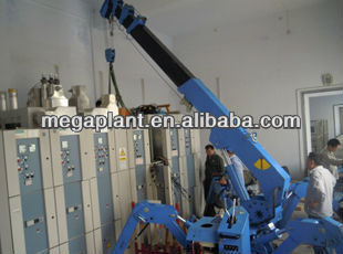 Good quality track 1t small crane