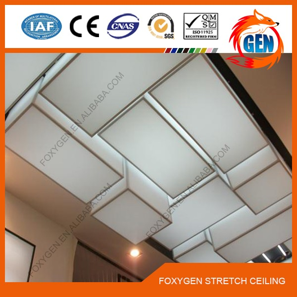 Guaranteed Quality Proper Price colorful pvc stretched ceiling fabric