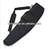 1m tactical hunting padded carry case air rifle gun slip bag