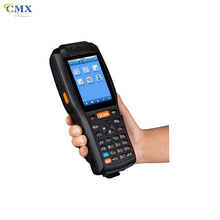 PDA3505 barcode scanner industrial handheld PDA With mobile Printer
