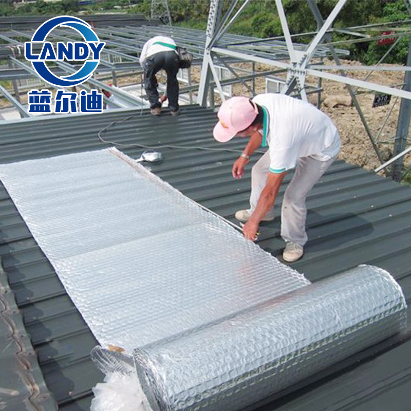 Reflective Insulation Heat Resistant Steel Building House
