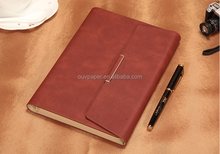 leather cover factory printing personalized business notebook