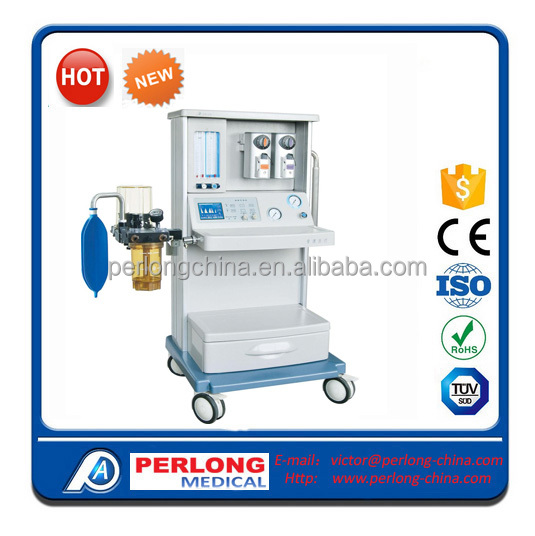 disposable anesthesia breathing circuit/anesthesia machine with ventilator