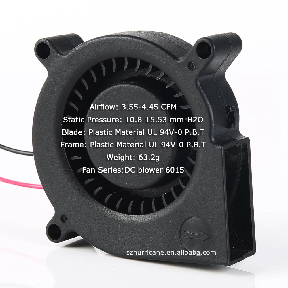 12v dc 6015 blower fan for burner