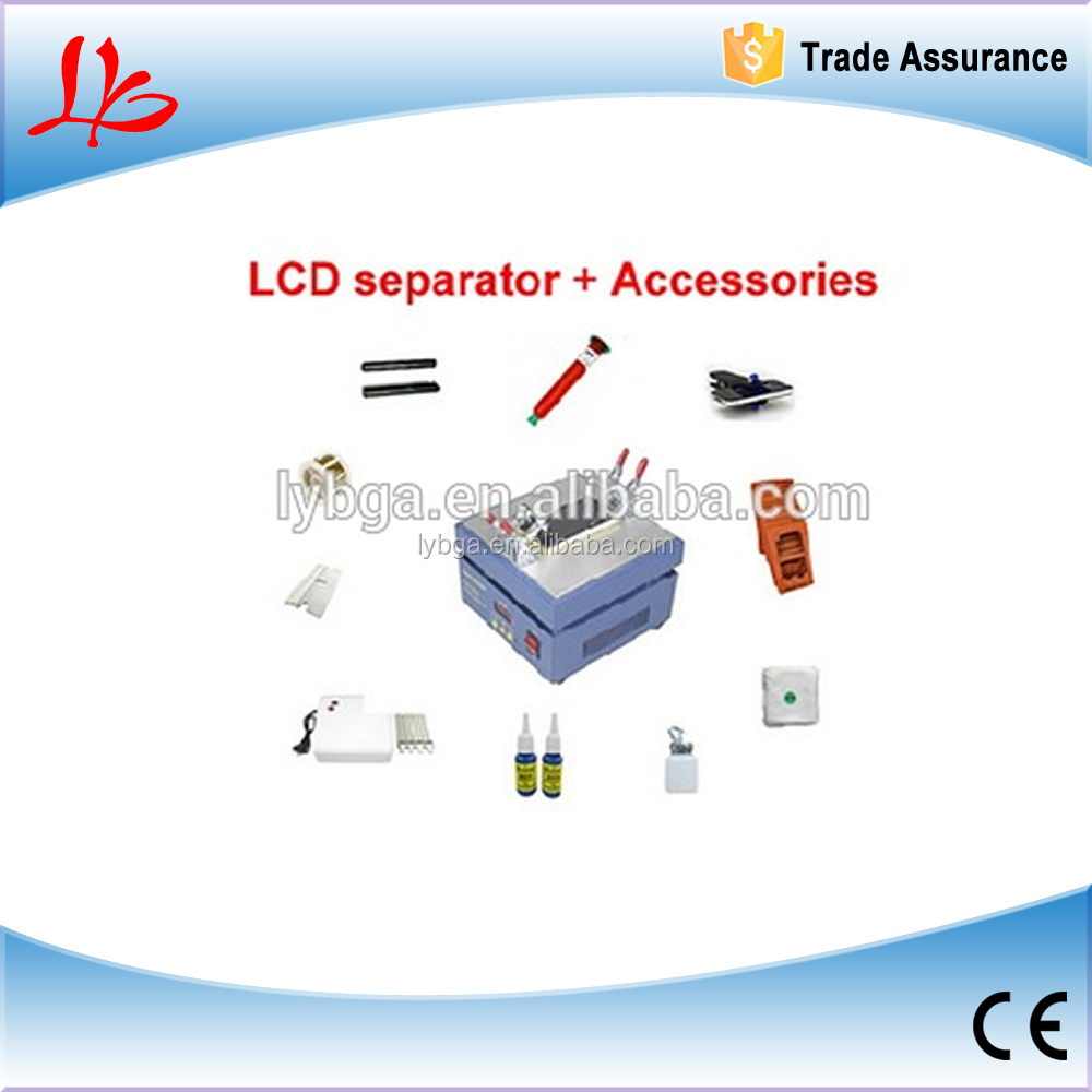 Free ship!cost-effective lcd repair machine 946D lcd separator &accessories for Iphone/samsung for repair touch screen