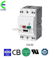 CE CB RoHS TUV approved MPCB Motor Protection Circuit Breaker for three-phase motor rated current 16~25A Icu100KA Ics100KA
