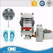 rubber plastic slipper sole making machine