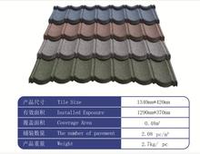 Stone chips coated steel tile / building material /metal roofing for Canada