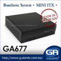 GA677 - Mini PC Case ITX Computer Case for Car PC