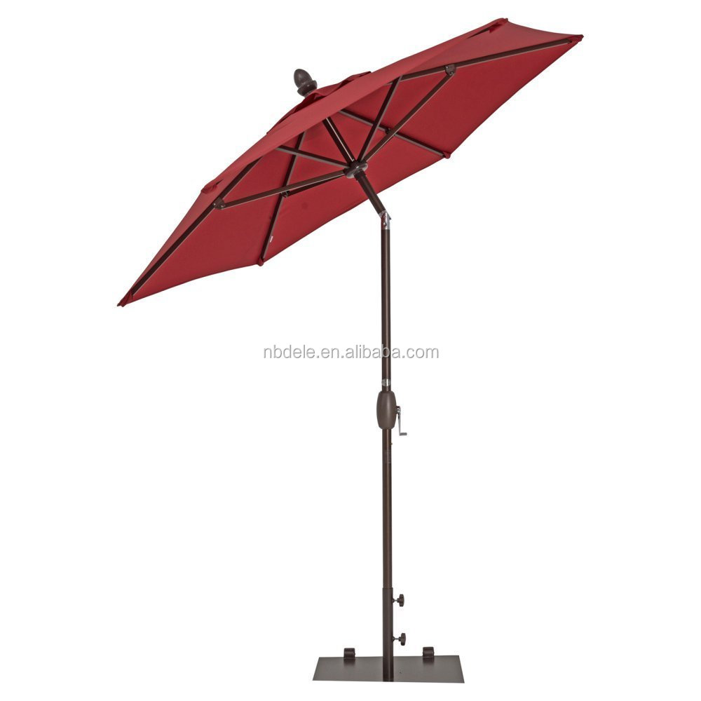 Abba Patio 9 Ft Market Outdoor Aluminum Patio Umbrella with Tilt & Crank