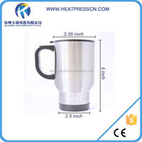 Super great quality Sublimation 14oz Stainless Steel Mug