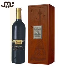 Classical luxury wood single wine box