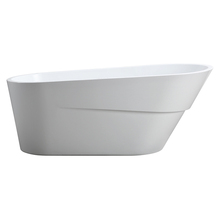 Hot selling China factory promotion whirl pool tub confortable bathtub acrylic vertical bathtub