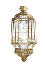 Islamic decoration chandelier large pendant lamp for mosque