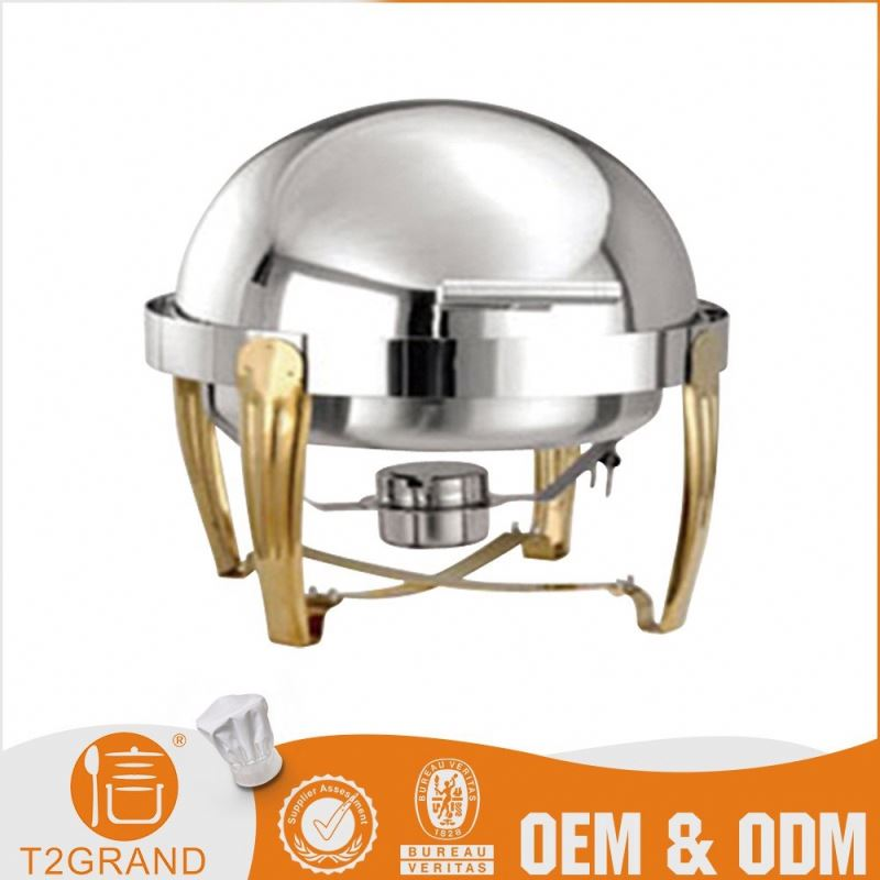 Oem Service Restaurant & Hotel Stainless Steel Chafing Dish Electric Buffet Equipment
