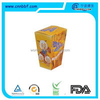 Food packaging container for take away popcorn chicken paper boxes