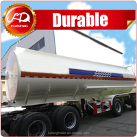 Multi Axles insulating layer fuel tanker truck capacity trailer