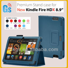 "Design Leather cover for Amazon Kindle Fire HDX 8.9"" Wake and Sleep Function case"