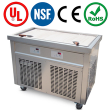 High profromance thai ice cream cold plate machine