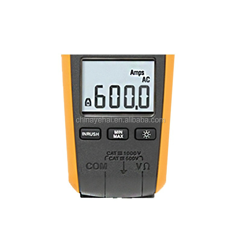 Fluke 376 True RMS AC/DC Clamp Meter with iFlex, handheld Fluke 376 digital ac dc clamp meter