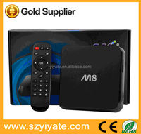 google android 4.4 tv box Amlogic Quad Core TV Box with chipset aml S802 digital tv converter set top box