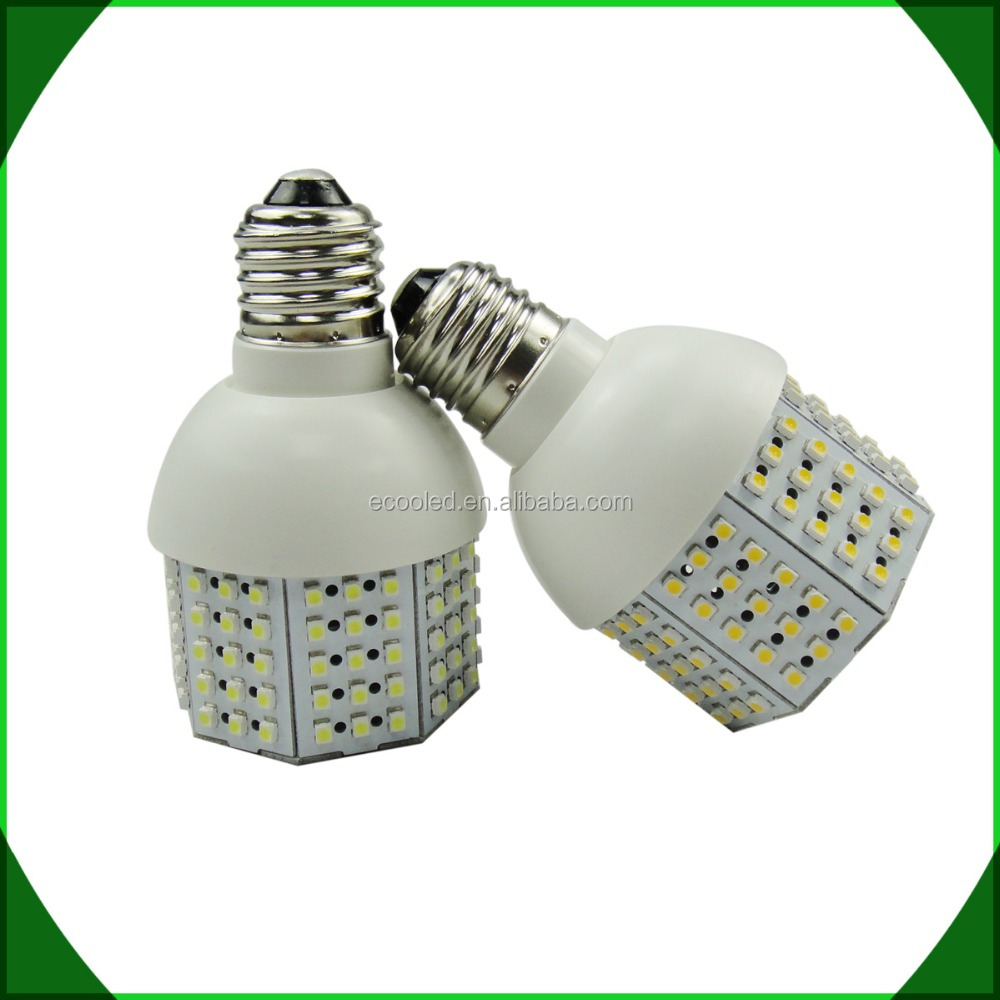 E27 LED bulbs corn 9w 12w 15w 360 degree beam angle SMD3528 chips 5 years warranty from Shenzhen factory