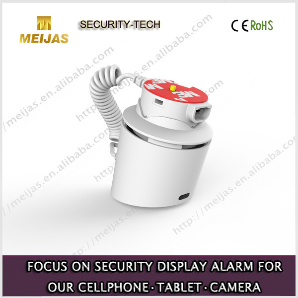 Desktop Cell Phone Burglar Alarm Anti-Theft Mobile Phone Security Sensor Display Stand with Charging