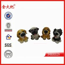 wholesale home decoration mini plastic dog figurines